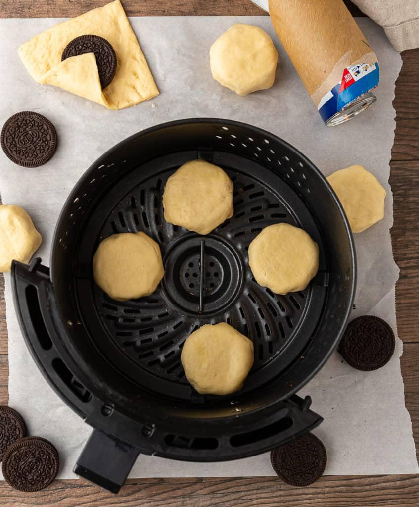 how to air fry oreos