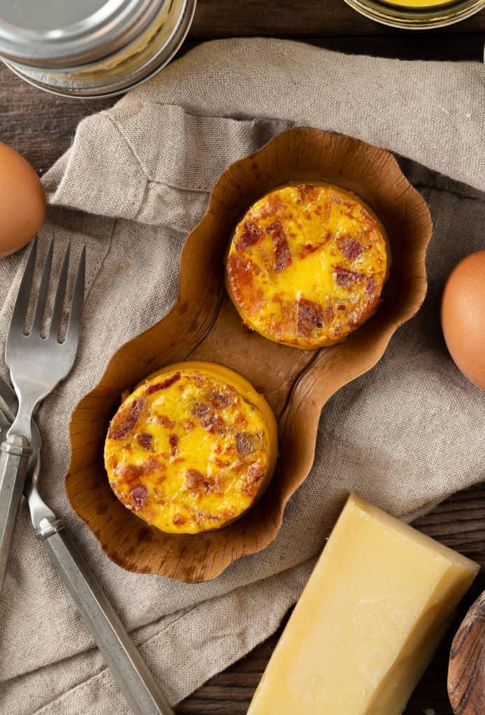 bacon gruyere egg bites