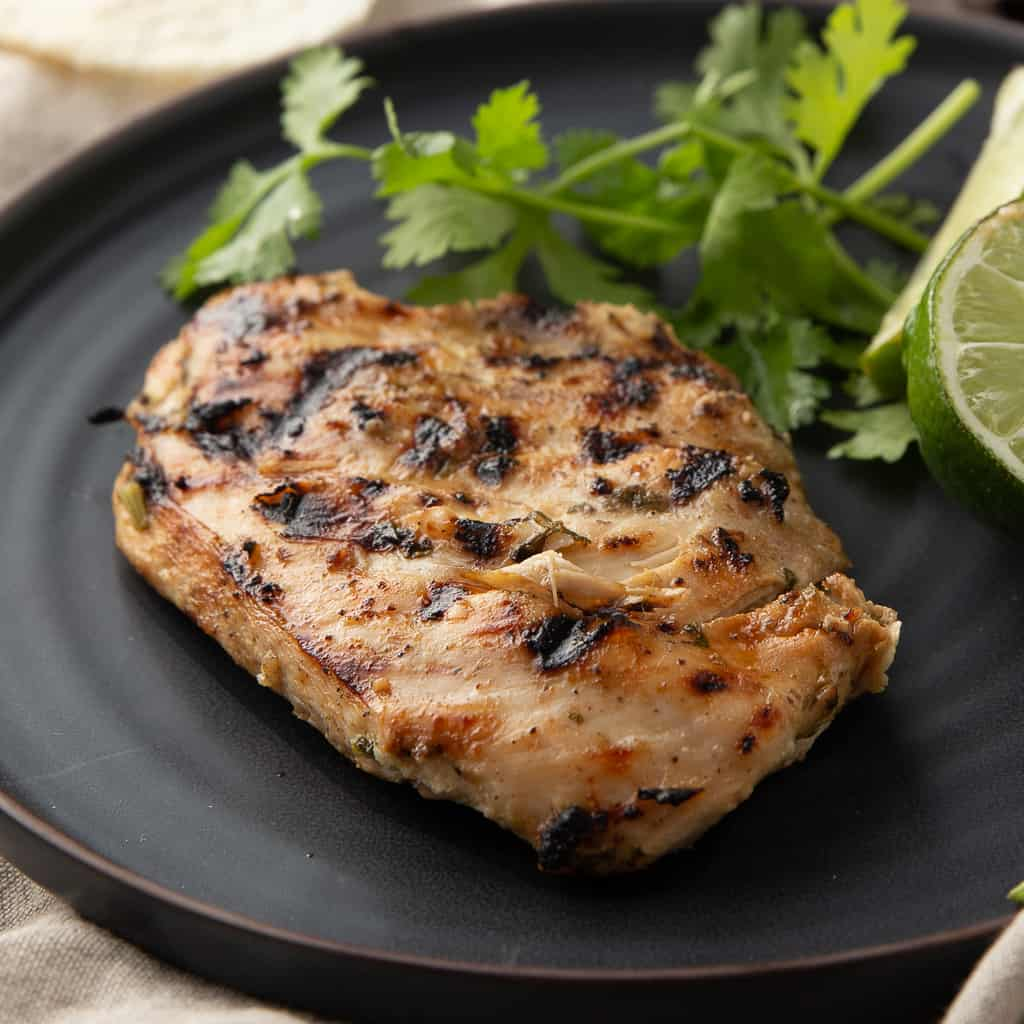 how to grill marinated chicken