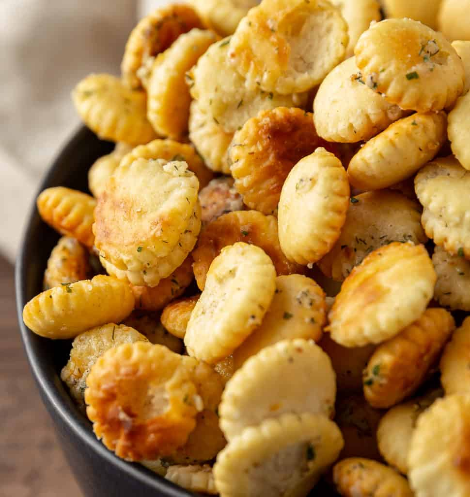 oyster crackers with ranch seasoning