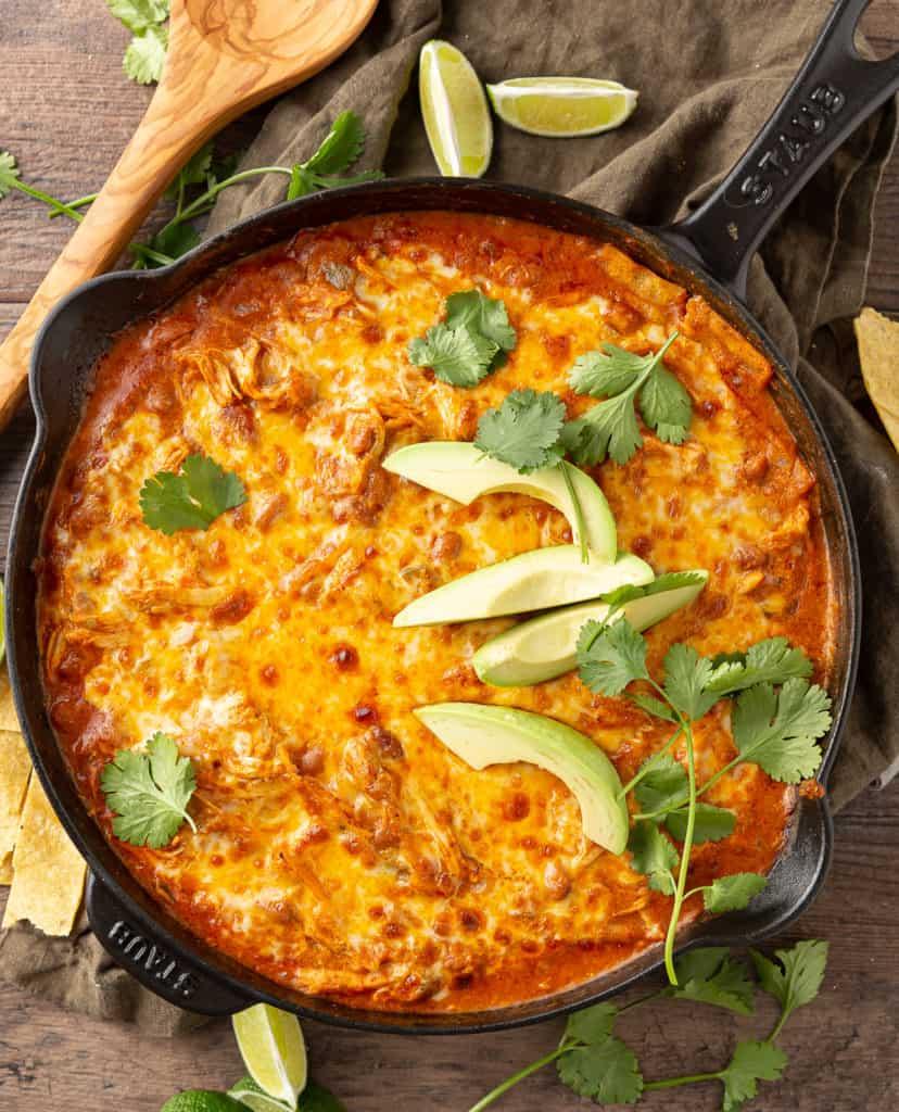 skillet enchiladas recipe