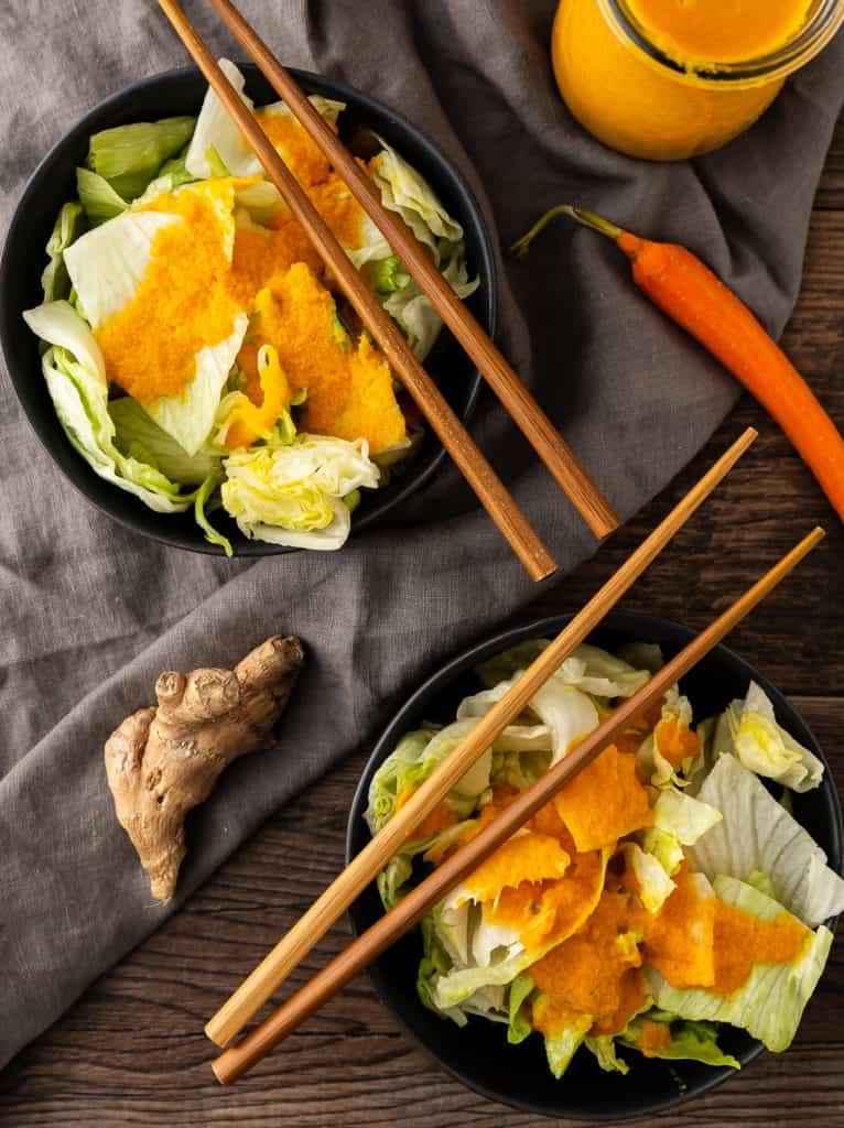 Hibachi restaurant salad dressing