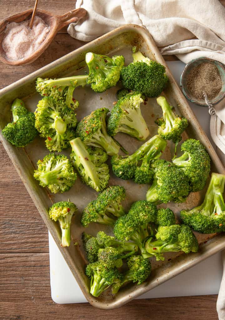 how to cut broccoli for grilling