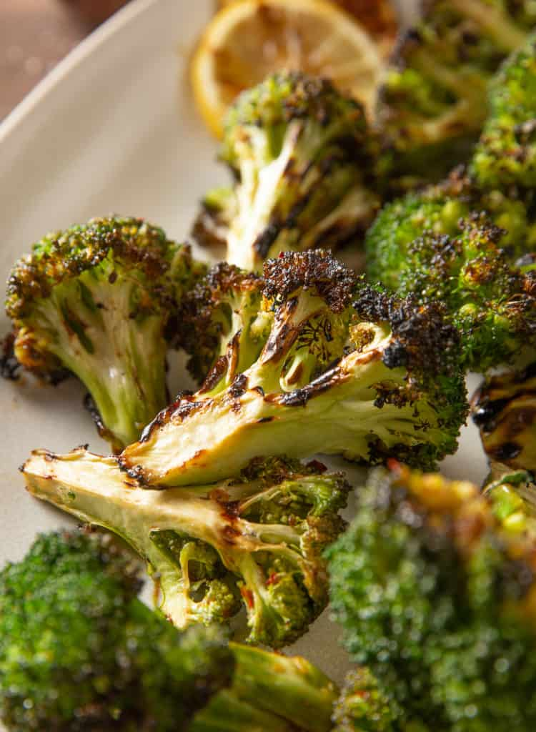 healthy grilled broccoli