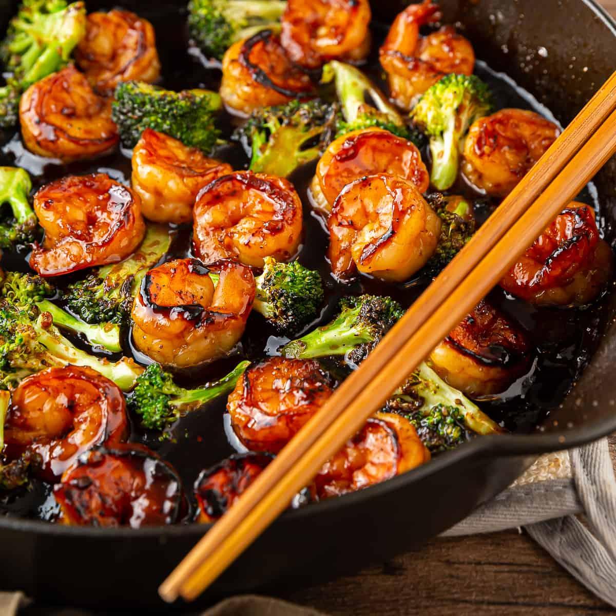 how to make chinese honey garlic shrimp